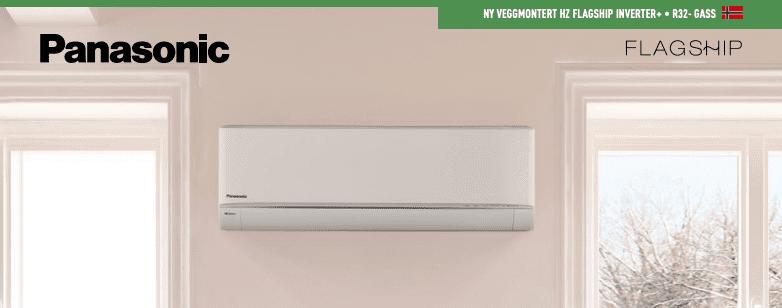 Bilde av Panasonic varmepumpe